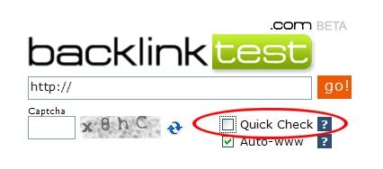 Backlinktest mit Details